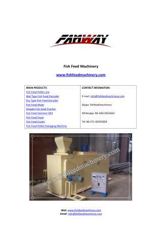 Fish Feed Dryer | Fish feed drying machine