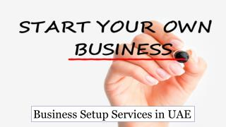 Business Setup Consulting Services in UAE
