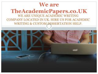 Best Assignment, Essay, Coursework and Dissertation Writing Services Provider Company in UK