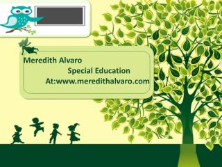 Meredith Alvaro Special Education