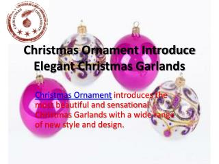 Glass Christmas Ornaments|Christmas Figurines