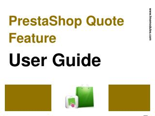FME's PrestaShop Quotation Module