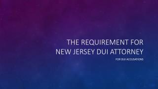 If Im Convicted Of DWI In New Jersey Will I Have A Criminal Record