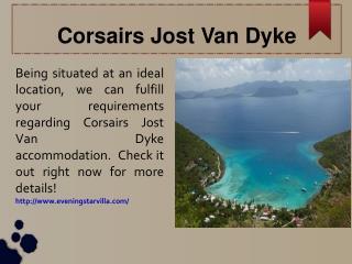 Corsairs Jost Van Dyke