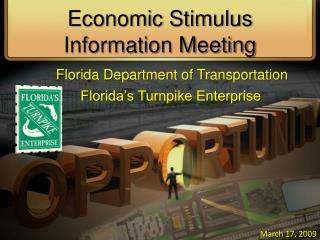 Economic Stimulus Information Meeting