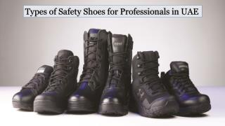 Industrial Safety Shoes in Dubai