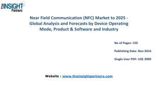 Near Field Communication (NFC) Market Shares, Strategies, and Forecasts, Worldwide, 2016 to 2025 |The Insight Partners