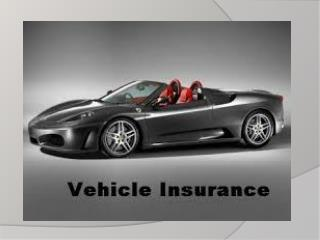Vehicle Insurance - Get A Free Quote For Car Insurance