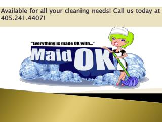 Cleaning Tips from OKC Maids