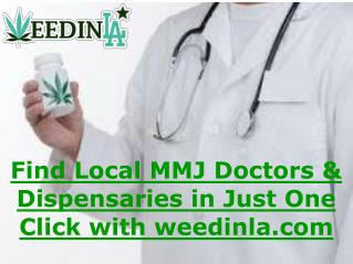 Find Local MMJ Doctors and Dispensaries