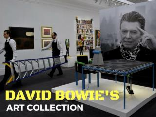 David Bowie's art collection