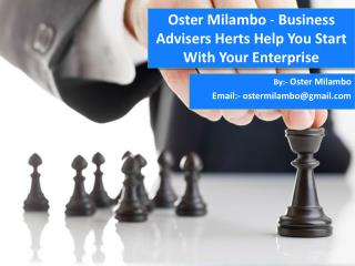 Oster Milambo - Business Advisers