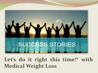 medical weight loss clinic cost