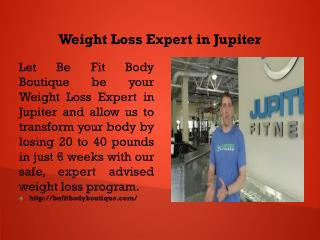 Weight Loss Expert in Jupiter