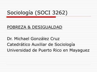 Sociolog a SOCI 3262