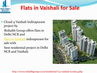 Flats in Vaishali for Sale