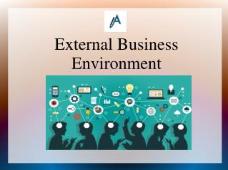 External Business Environment