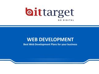 Web Development Services in Noida| Bittarget