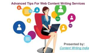 Advanced tips for web content writing.