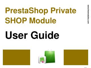 PrestaShop Hide Shop Module