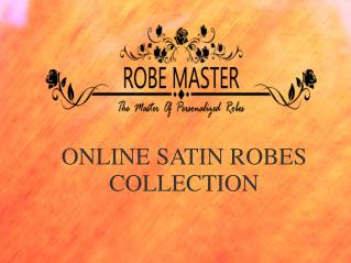 Online Satin Bridesmaids Robes Collection