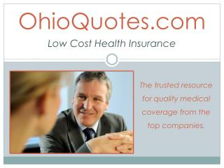 Affordable Health Insurance Plans In Ohio