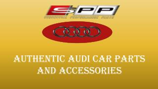 Authentic Audi Car Parts and Accessories