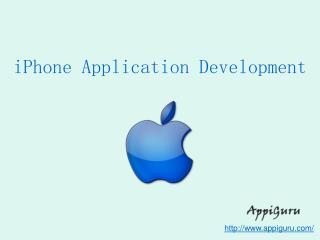 Best iPhone Application Development At AppiGuru