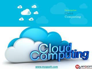 Enterprise Cloud Computing Service