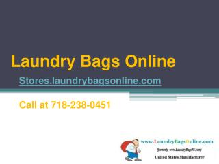 Buy Laundry Bags Online - Stores.laundrybagsonline.com