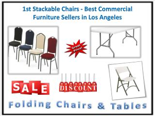 1st Stackable Chairs - Best Commercial Furniture Sellers in Los Angeles