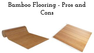 Bamboo Flooring - Pros and Cons