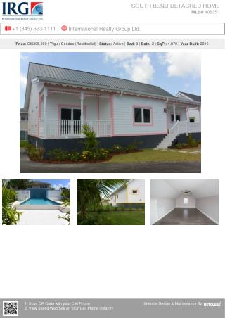 South Bend Detached Home - Residential Property by IRG Cayman