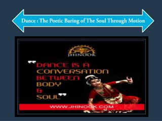 The Poetic Baring of The Soul Through Motion