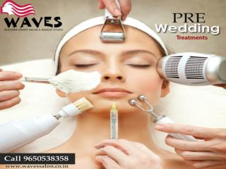 Pre bridal treatment packages at very affordable prices in Noida. Call at 9650538358.