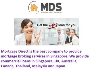Mortgage Direct Loan Services in Singapore