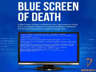 How You Can Free Your Computer From Blue Screen Problem