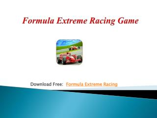 Formula Extreme Racing