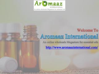 Get Online Pure Essential Oils at Wholesale price
