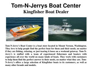 Tom-N-Jerrys Boat Center - Kingfisher Boat Dealer