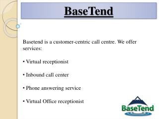 Basetend - Prince Edward Island