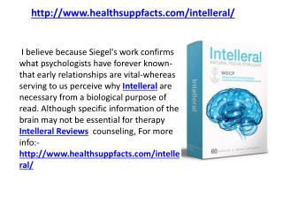 Buy Advanced Brain Booster – Intelleral
