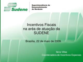 Incentivos Fiscais na ar a de atua  o da SUDENE