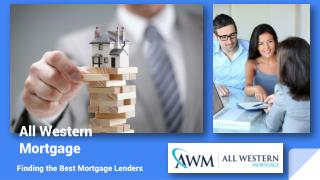 Questions for Online Mortgage Lenders