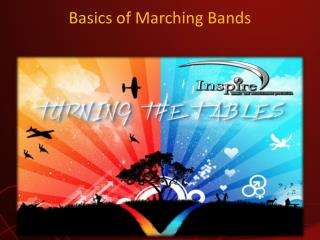 Basics of Marching Bands