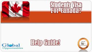 Canada Education Consultants|Study Abroad Consultants|Overseas Education Consultants|Student Visa Consultants|Global Stu
