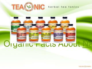 Organic Facts About Natural Herbal Teas