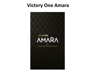 Victory one Amara Lavish Apartments in Noida Extension