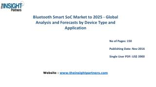 Bluetooth Smart SoC Market Research Report 2025 -Market Size and Forecast |The Insight Partners