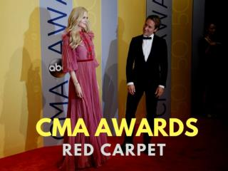 CMA Awards red carpet